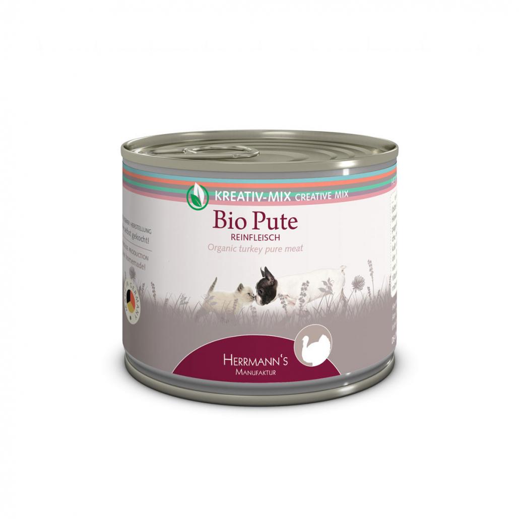 pulykahúsos kutyakonzerv